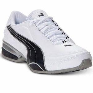 Puma Men's Running Eco OrthoLite 10.5 White Black